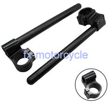 For 750/900SS CBR929RR CBR954RR Raised Clip Ons Fork Handle Bars 50mm Clip-Ons