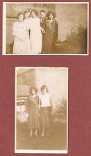 Young men & women, 1920s, RP's, back garden, cheerful, sullen, Q2082