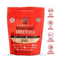Lakanto Monk Fruit Sweetener Natural Sugar Substitute Golden Zero Calories 8.2oz