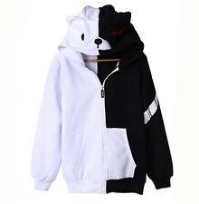 Anime Dangan Ronpa Monokuma Unisex Clothing Casual Cosplay COS Sweatshirt Hoodie
