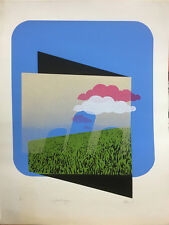 """Abstract Lithographs Phim 1971, """"Yesterday"""" Ed. 17/30, 1971"""
