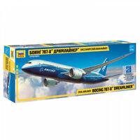 ZVEZDA 7008 Aereo modello Boeing 787-8 DREAMLINER kit montaggio scala 1:144