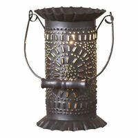 PRAIRIE new electric Wax Warmer in Black Punched Tin