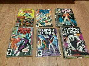 Alpha Flight 1-43 plus Annual #1 Canada's first superhero team by Marvel