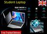 Student Laptop Notebook Quad Core 6GB RAM 256GB SSD Windows 10 Intel Celeron UK
