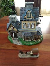 PartyLite Candle Shop Olde World Village Tealight House Collection P7315 No Box