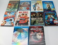 Lot of 22 Blu Ray+DVD Movie Discs Action, Fantasy, Anime, Comedy Kids Disney