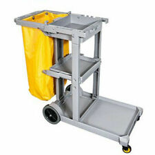 More details for janitorial cleaning cart jolly trolley with 60l bag hotel/office/shopping centre