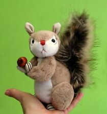 """Squirt soft toy squirrel sewing pattern by pcbangles. Height 6"""" (16cm)"""