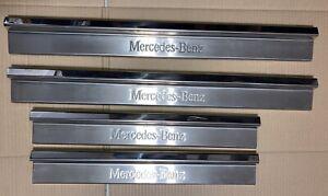 MERCEDES BENZ W124 Scuff plate Door sill Entrance strip E200 E500 E320 Etc..ST#1