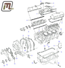 gasket kit engine complete V6 2,6l FORD Granada MK1