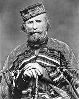 1866 Photo Giuseppe Garibaldi-Italian General-Politician-Formed History of Italy