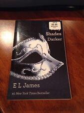 E L JAMES Fifty Shades Darker II NEARFINE EROTICA 50 BONDAGE BDSM Of Grey #2 two