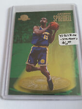 1995-96 SkyBox Premium Standouts #S5 Latrell Sprewell : Golden State Warriors