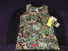 Burton Marvel First Layer Youth Large L Tech Tee Dryride Ultrawick