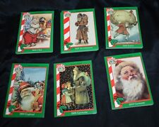 Santa Around the World Trading Cards, Full Set 72 Cards, Excellent, 1994, Clause