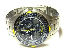 mens Citizen Skyhawk Eco Drive Blue Angels titanium watch C651 parts repair
