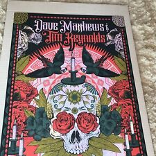 Dave Matthews Band Poster 1 Riviera Maya Mexico N3 Signed & Numbered #/20 Foil