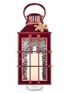 Bath and Body Works Winter Holiday Snowflake Red Ship Lantern Wallflowers Plug
