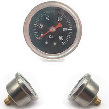 Kompakte Kraftstoff Druck Anzeige Fit mit 1/8 NPT Gewinden und 90 Grad Montage