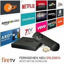 ★ Amazon Fire TV 4K UHD Box ★ Kodi 17.1 ★ Sprachbedienung ★ IPTV ★ Filme ★