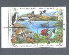 New Zealand-Conservation-Birds block 1736a mnh 1993-