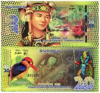 Bank Equatorial Territories Borneo 20 Equatorial Francs 2014 Polymer Fantasy