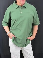 Carhatt Moss Green Cotton Polo Shirt Men's XL T4W