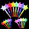 STAR LIGHT UP STICK LED CONCERT PARTY XMAS DECOR GLOWING WANDS ROD GIFT ORNATE