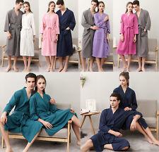 Womens Mens Casual Sleepwear Robe Nightwear Pajamas Bathrobe Homewear Comfort