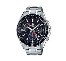 Casio EFR552D-1A3 Edifice Men's Watch Black/Stainless Steel WR 10 ATM RRP$199