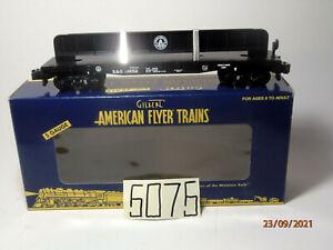 AMERICAN FLYER #48540 Baltimore & Ohio Flatcar with Girder ,OB