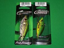 """Cordell Rattle Spot Rattle Trap - Bass 3"""" & Wounded Tiger Shad 2.5"""" (2 Pk)"""