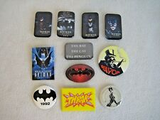 Batman Pin Back Button Lot Of 11