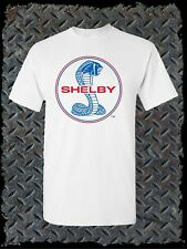 Shelby Cobra T-Shirt / Authentic Licensed Product Blue & Red Logo Ford GT500
