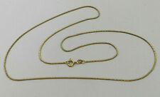 """18ct Gold 20"""" Snake Link Chain Necklace.   Goldmine Jewellers."""