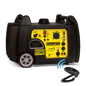 100262R - 3200/3500w Champion Inverter, Remote Start - REFURBISHED