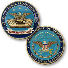 Department of Defense / Pentagon Force Protection Agency - PFPA Challenge Coin