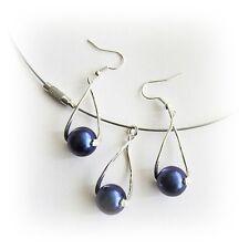 Schmucksets mit echten Perlen aus Kupfer für Damen