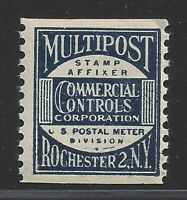 United States Multipost Commercial Controls Test Stamp #TD89