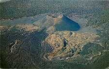 Posted 60's Chrome PC Cinder Cone Lava Flow & Ash Dunes Mt Lassen Nat'l Park CA