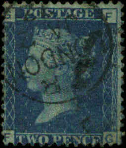 Great Britain Scott #29 SG #45  Plate #8 Used