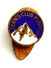Distintivo Con Smalti Tennis Club Monviso (Mariatti Torino) cm 1,1