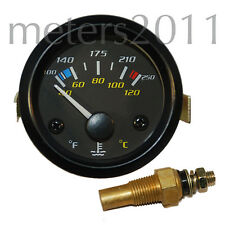 """2"""" Water Temperature Gauge 100-250F, 40-120C by Propower"""