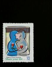 1998 32c Organ & Tissue Donation, Share Your Life Scott 3227 Mint F/VF NH