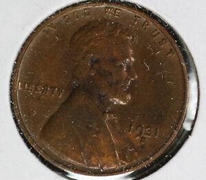Nice Original 1931-S Lincoln Cent!  Extra Fine Condition!