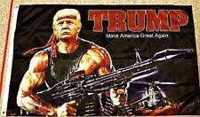 New listing Trump Make America Great Again Bazooka Flag 2020 Maga Flag Banner