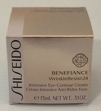 SHISEIDO BENEFIANCE WrinkleResist24 Intensive Eye Contour Cream 15ml/.51oz NIB