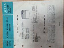 Vintage Manual ultra rg85
