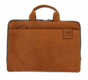 strellson Hyde Park Briefbag SHZ 2 Aktentasche Tasche Cognac Braun